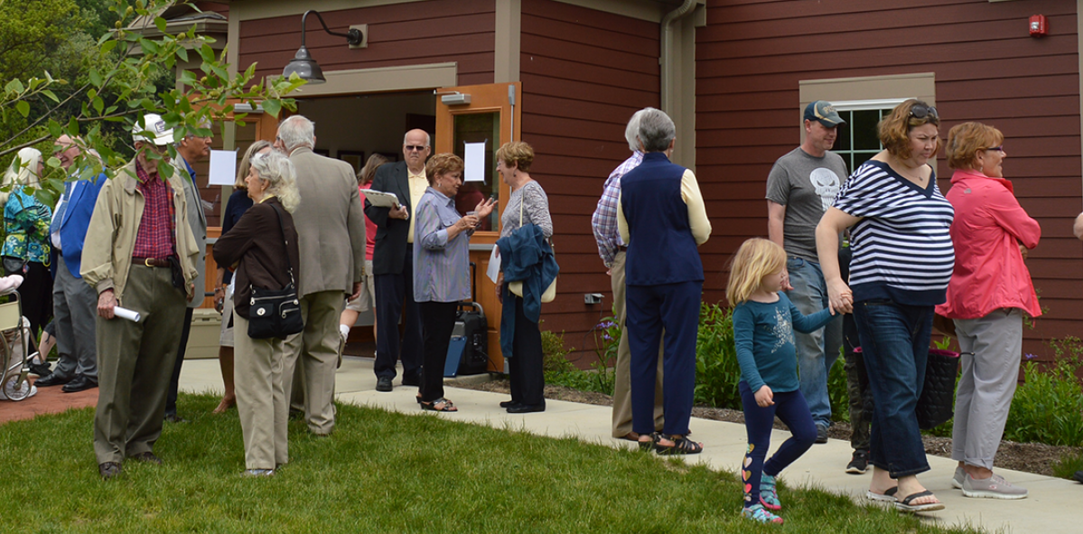Residents Gathered in McCandless